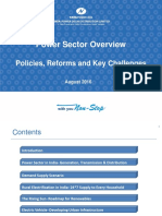 Power Sector Overview and Reforms_August 2016