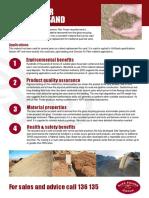 Sand Brochure July 2016