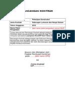 Rancangan Kontrak Pekerjaan Konstruksi Kontrak Gabungan 264641