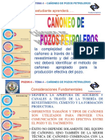 6 Pozos II - Clases Operaciones de Cañoneo