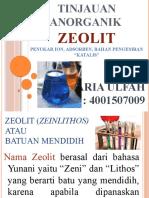 Zeolit Power Point
