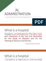 Hospital Adminstration1