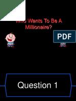 Millionaire Algebra