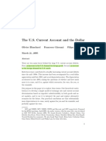 The Us Current Account and the Dollar