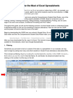 How to Make the Most of Excel Spreadsheets