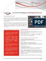 Defenxor Intelligence Managed Security