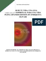 El Amor de Tu Vida Una Guia Practica y Espiritual Para Una Vida Plena Spanish Edition by Enriqueta Olivari (1)