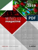 Ming Li Magazine juin_2019