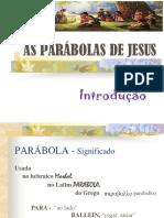 Parábolas de Jesus - Aula 01 - Introdução