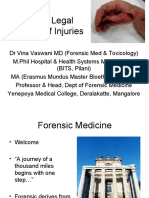 Medico Legal Aspects of Injuries