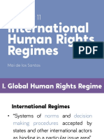 Chapter 11 - International Human Rights Regimes (Abridged)