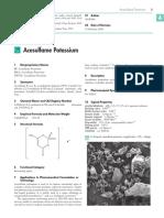 acesulfame potassium