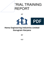 Mid Term Progresss Report hema engineering