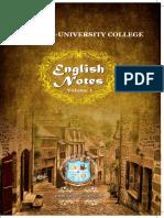 PUC Vikas Booklet English I 17