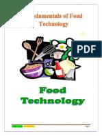 Fundamentals of Food Technology