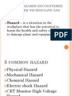 15 PPT Common Hazard