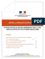 FDVA 2019 Appel à Projet de La Polynésie Française
