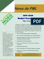 PML Newletter June 2019