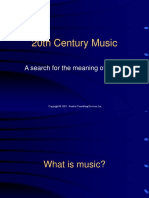 20th Century Music.ppt