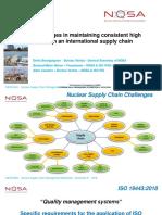 5. 5. BOURGUIGNON Denis_18 11 06 OCDE NEA - Challenges High Quality Supply Chain