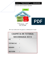 Modelo Carpeta Toe 2019