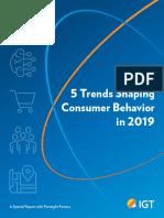 CONSUMER IGT 5 Consumer Trends SpecialReport