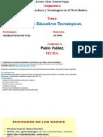 Recursos Didacticos y Tecnologicos en La Educacion Basica