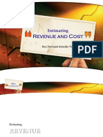 Kuliah 3 - Estimating Revenue and Cost