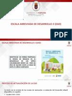Escala Abreviada de Desarrollo-3 y Proc