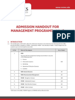 Mba Pgdm Information Handout Admission Nmims 2018 (1)
