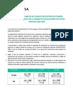 Seleccion de Calibre en cables para construccion.pdf