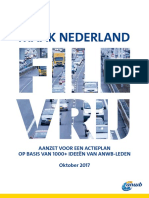 Rapport Maak Nederland Filevrij
