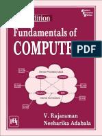 V rajaraman fundamentals of computers sample pdf