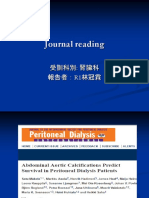 Aortic Calcification Effect on Dialysis