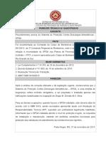 12223214 Parecer Tecnico n 022 Esclarece Procedimentos Acerca Do Spda
