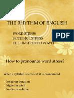 The Rhythm of English
