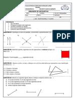 Matemática Prova 3