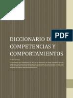 Diccionario de competencias y comportamientos