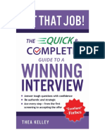 Get That Job! the Quick & Complete Guide to a Winning Interview