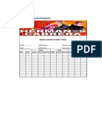 Formatos Del Kardex
