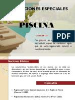 Instalaciones especiales Piscina