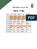 horario de aula
