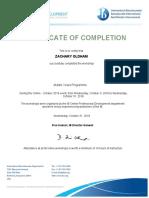 myp certificate
