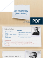Heinz Kohut - Self Psychology