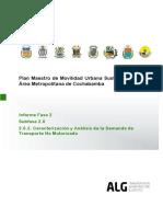 Plan Maestro de Movilidad Urbana Sustentable para el Área Metropolitana de Cochabamba