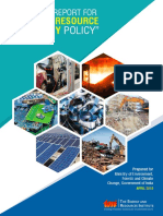 National Policy Report