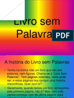 Livro Sem Palvras.