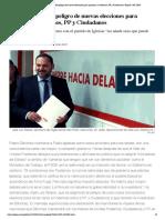 El PSOE avisa del peligro de nuevas elecciones para presionar a Podemos, PP y Ciudadanos _ España _ EL PAÍS