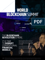 Blockchain Sponsor Brochure