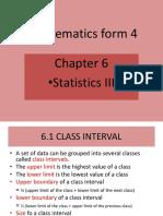 Ppt Mf4 Chap 6 Statistics III
